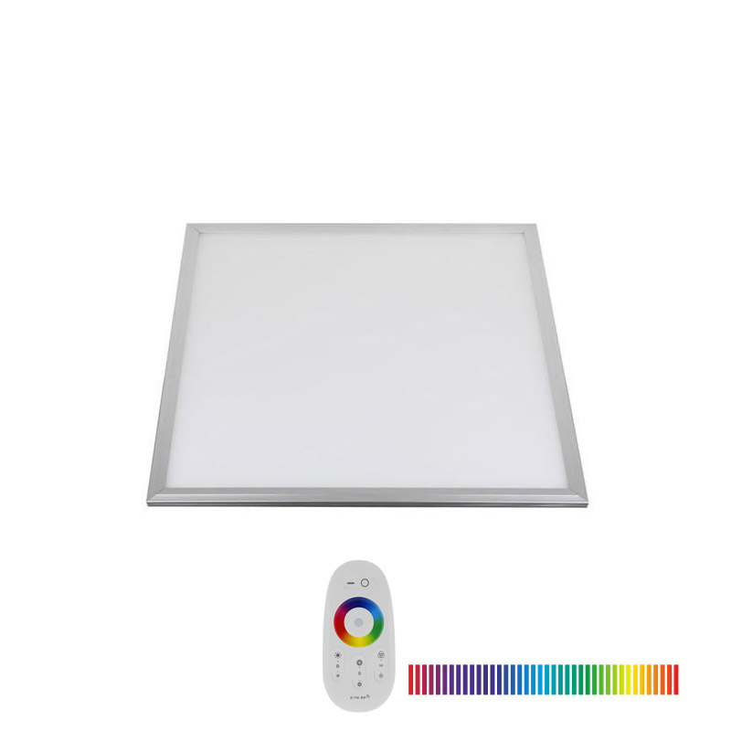 Panel LED 15W, RGB, RF, 30x30cm, RGB